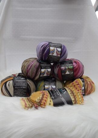 Socken/Tücherwolle